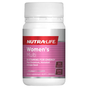 Nutra-Life Womens Multi One-A-Day Caps 30s