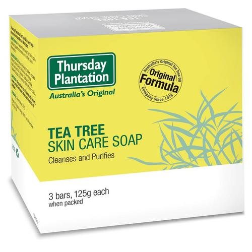 Tea Tree Soap 3x125g