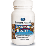 Sanderson Bears Colostrum chews for kids