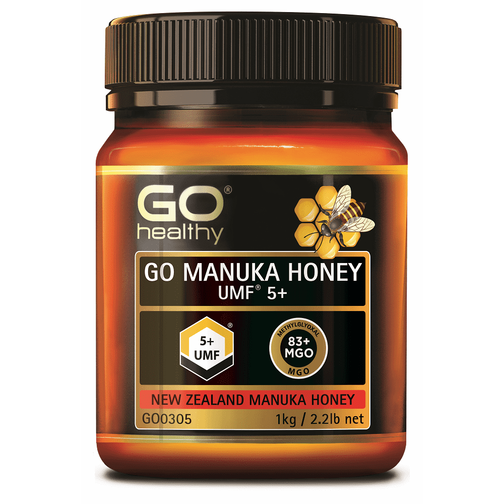 GO MANUKA HONEY UMF 5+ (MGO 80+)