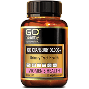 GO CRANBERRY 60,000+ -Urinary Tract Triple Strength Formula