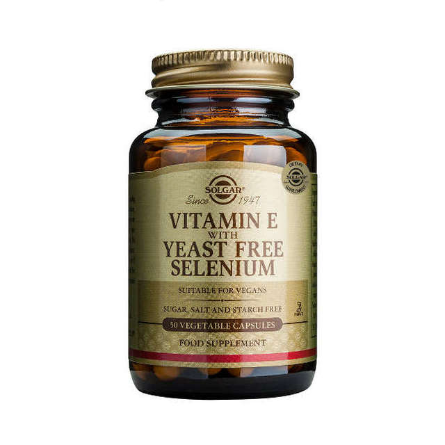Vitamin E w Selenium Yeast Free - DATED PRODUCT ON SPECIAL