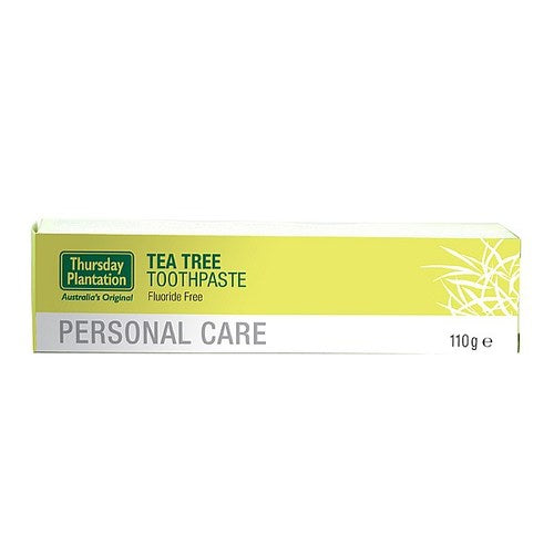 THURS.PL. Tea Tree Toothpaste 110g Fluoride free