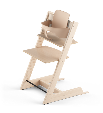 Stokke® Tripp Trapp® Стол 6+ месеца - цвят Natural