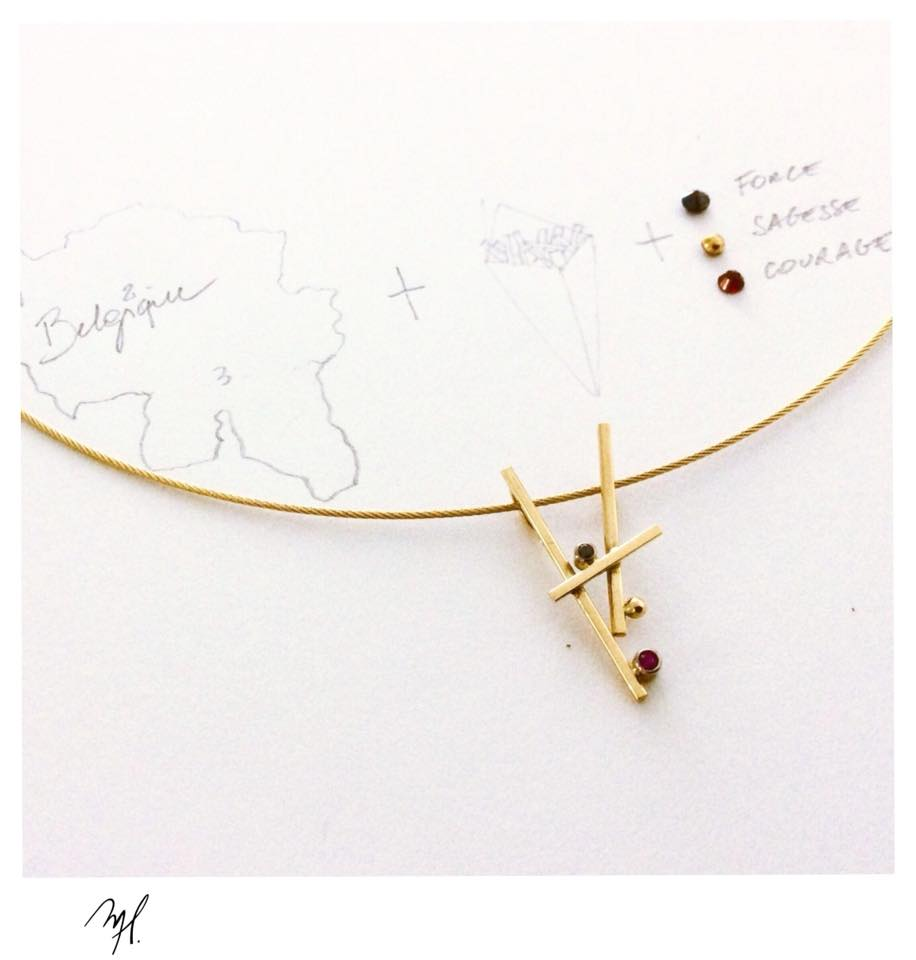 Concours Page Facebook - Juin 2018 #REDTOGETHER - Maud Herbage Jewellery Design