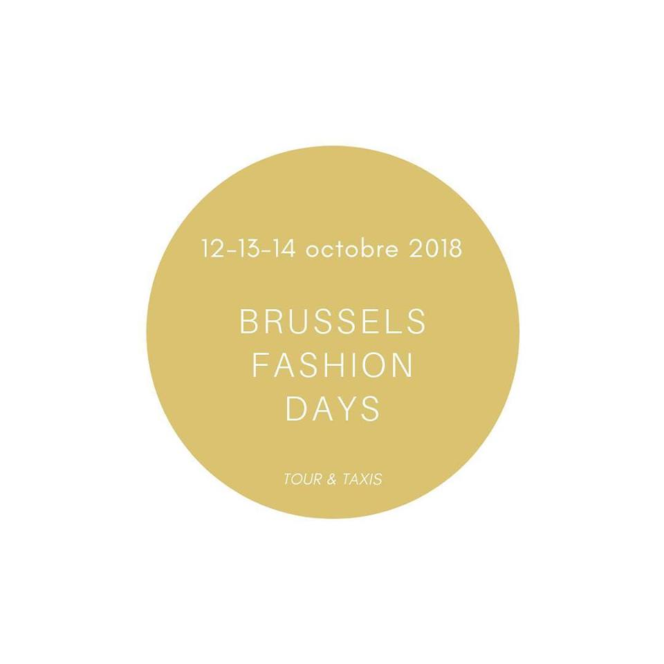 Brussels Fashions Days 12-13-14 octobre 2018