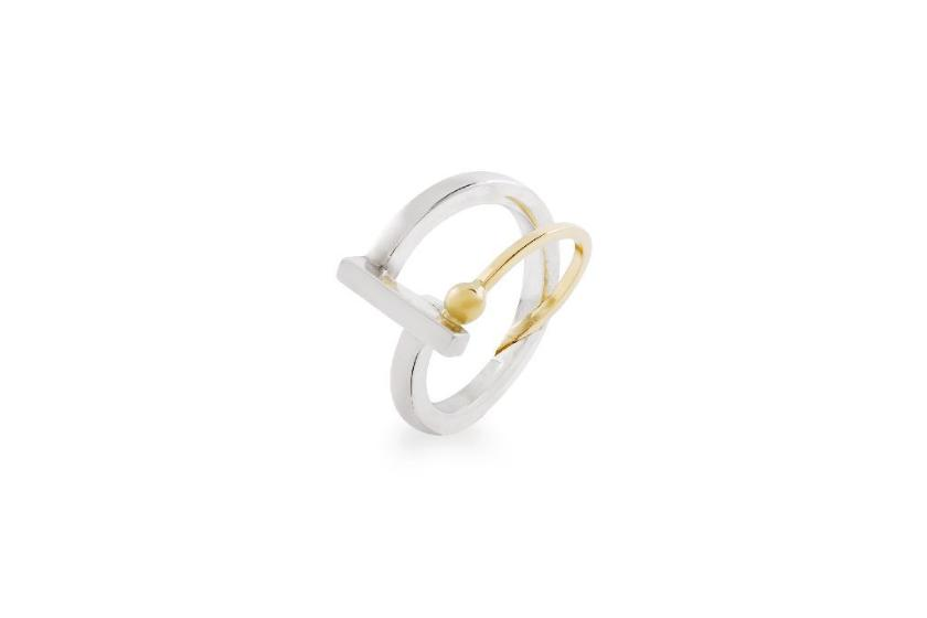 "Bague simple collection ""Un point c'est tout"" - Maud Herbage Jewellery Design"