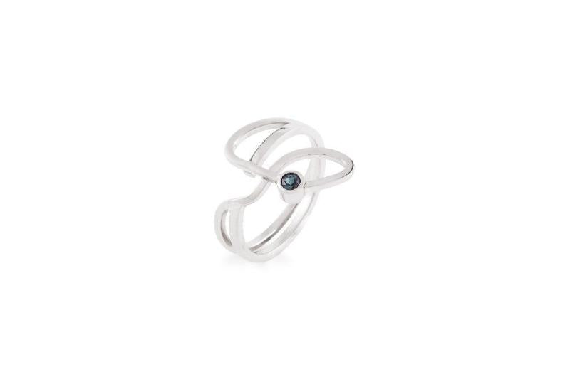 "Bague Or Blanc collection ""O / R"" - Maud Herbage Jewellery Design"