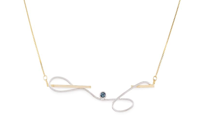 "Grand Collier collection ""O / R"" - Maud Herbage Jewellery Design"