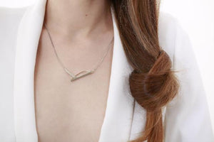 "Collier collection ""Un point c'est tout"" - Maud Herbage Jewellery Design"