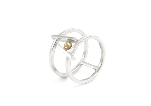 Bague double Juste Toi - Maud Herbage Jewellery Design