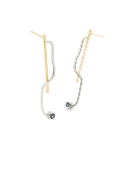 Boucle oreille grande collection O / R - Maud Herbage Jewellery Design