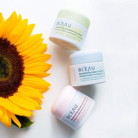 Glacial Oceanc Clay masks Transcend collection