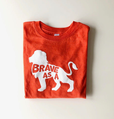 Brave As A Lion Tee