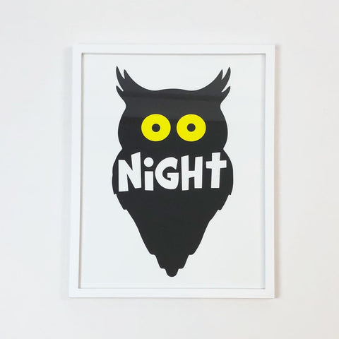 Night Owl Print