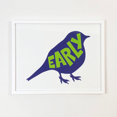 Early Bird Art Print
