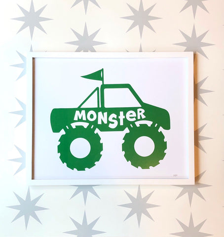 Monster Truck art print