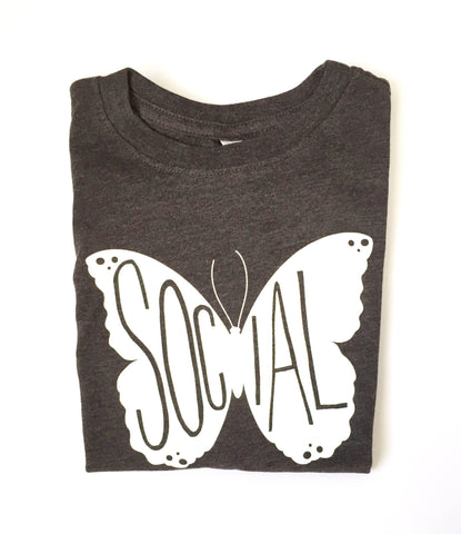 Social Butterfly Tee