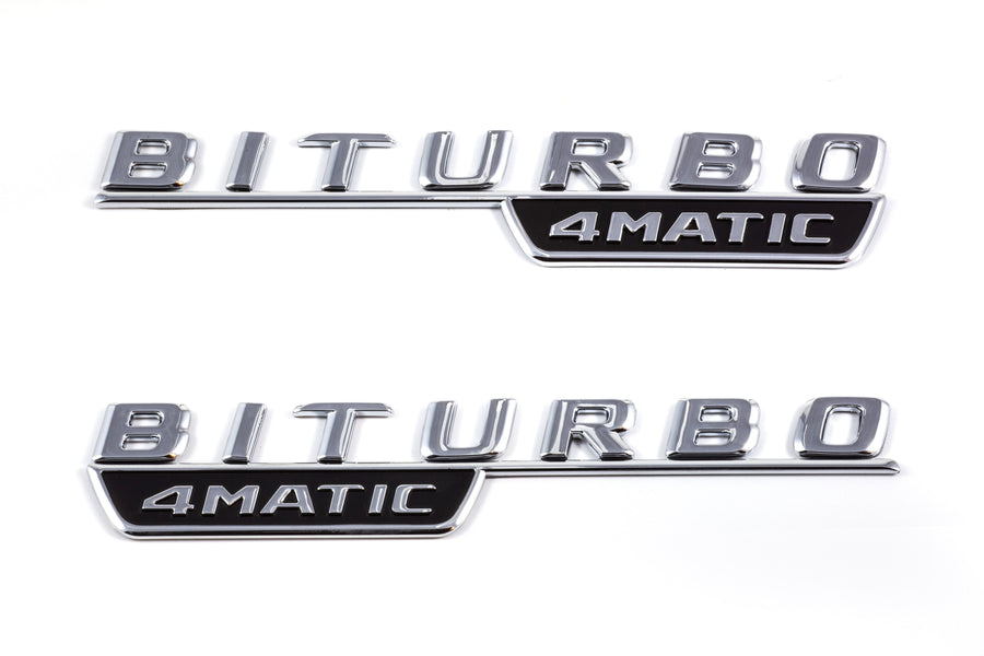 AMG Model Emblems & Badges