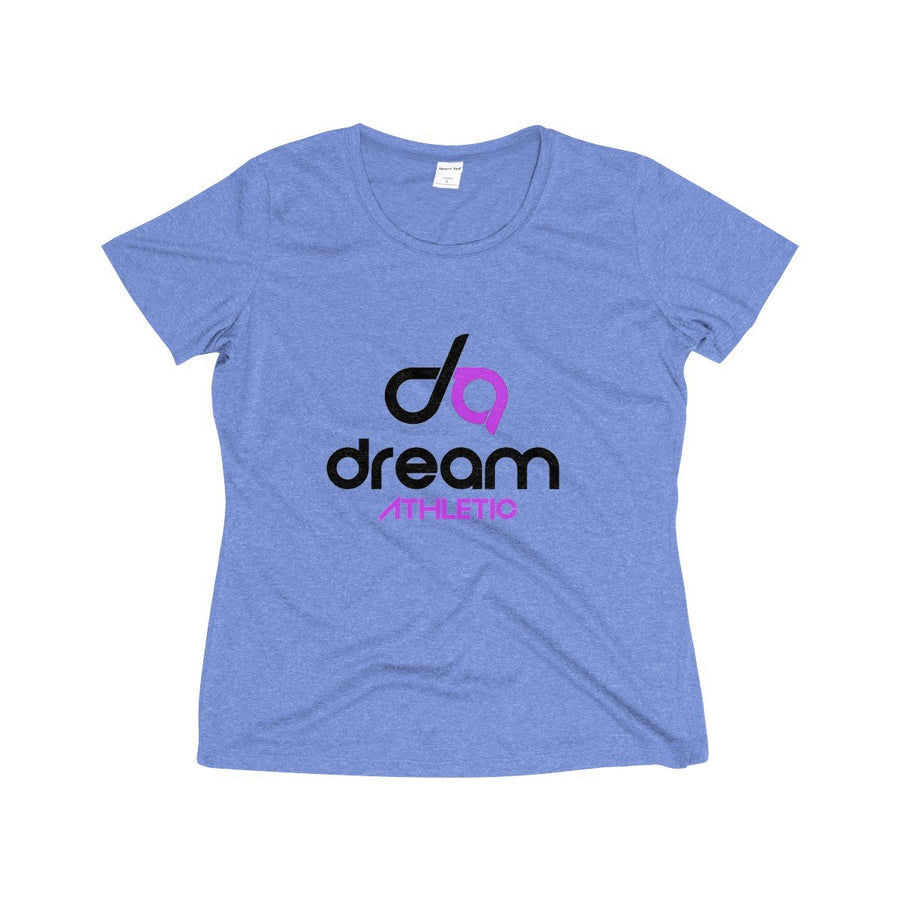 Dream Athletic  Wicking Tee Shirt- Black Print