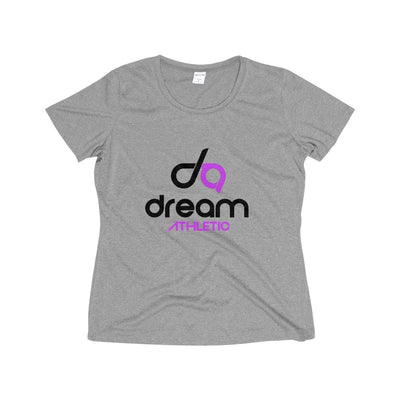 Dream Athletic  Wicking Tee Shirt- Black Print - DreamAthletic