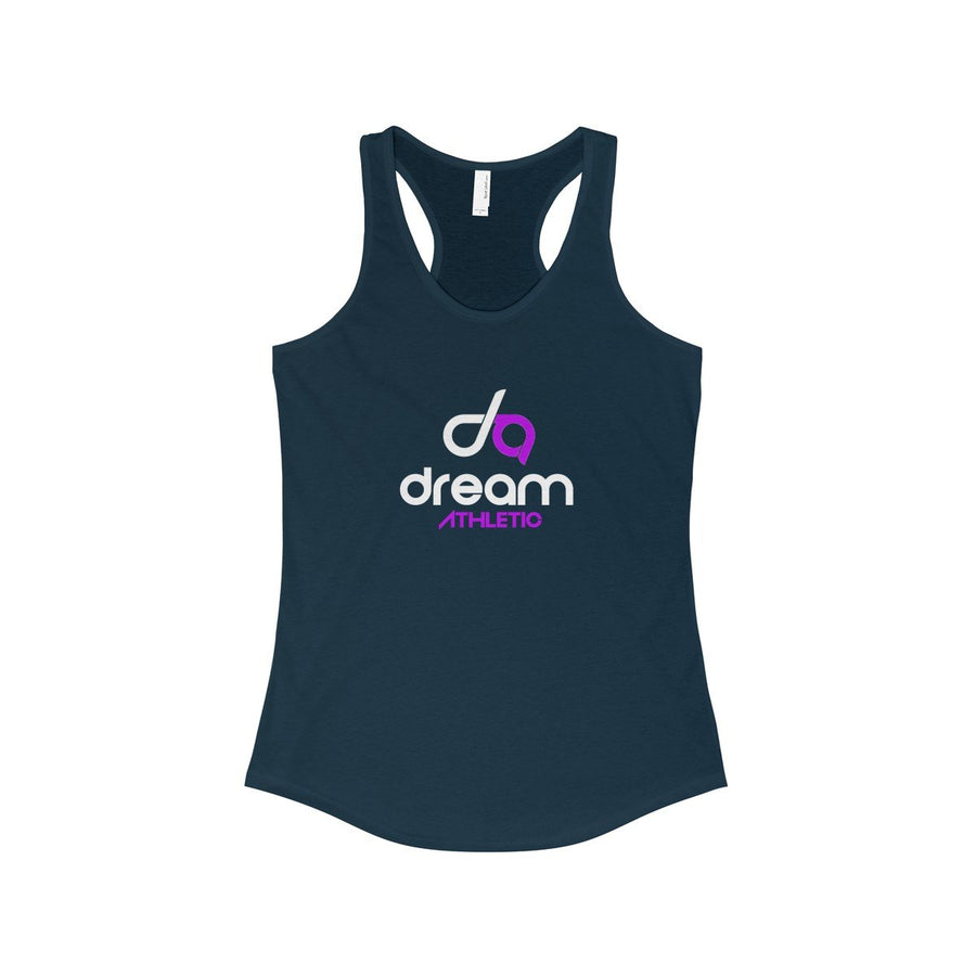 Dream Athletic Women's Ideal Racerback Tank- White Prints
