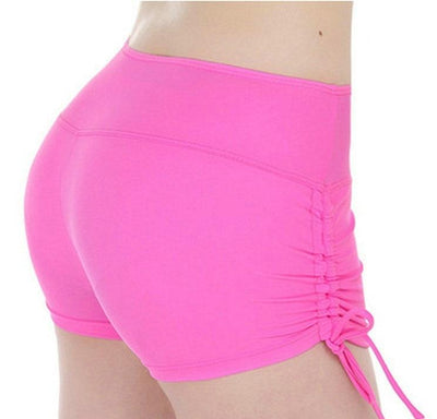 Compression Fitted Side Drawstring Shorts - DreamAthletic