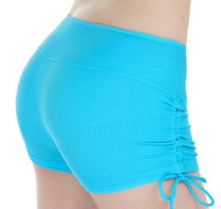 Compression Fitted Side Drawstring Shorts