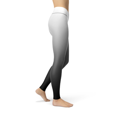 Diana White Ombre Leggings by Dream Athletic - DreamAthletic