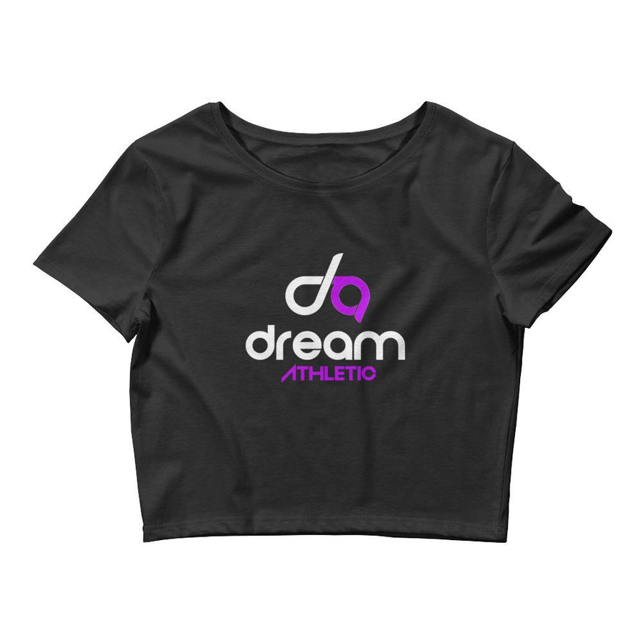 Dream Athletic Black Crop Tee - DreamAthletic