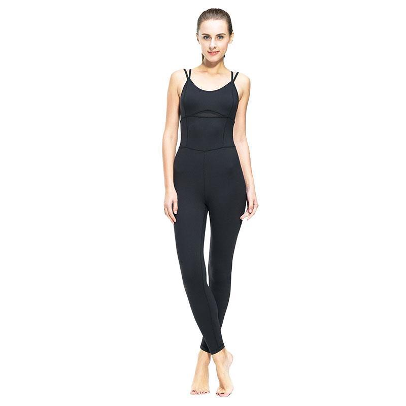 Tight Fitted Running Jumpsuit
