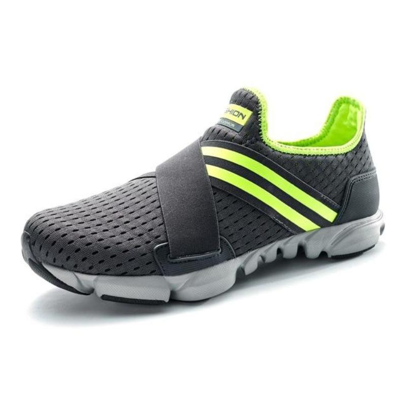 Breathable Slip-On Fitness Shoes
