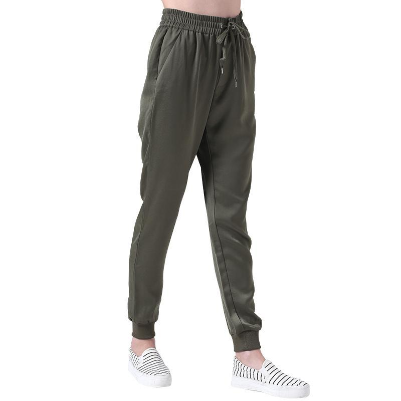 Slim Fitted Khaki Fitness Joggers - DreamAthletic