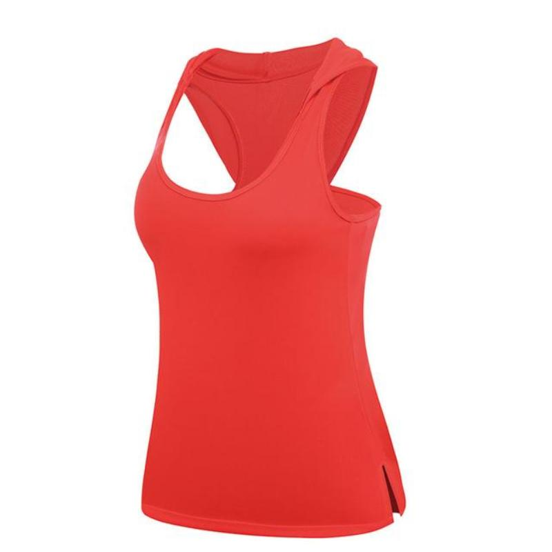 Hooded Active Tank Top - DreamAthletic