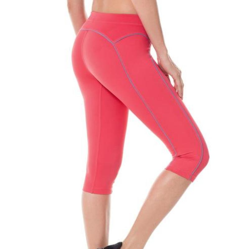 Knee Tight Fit Yoga Capri - DreamAthletic