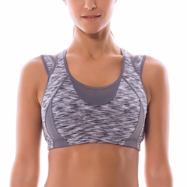 High Impact Wire-Free Racerback Sports Bra