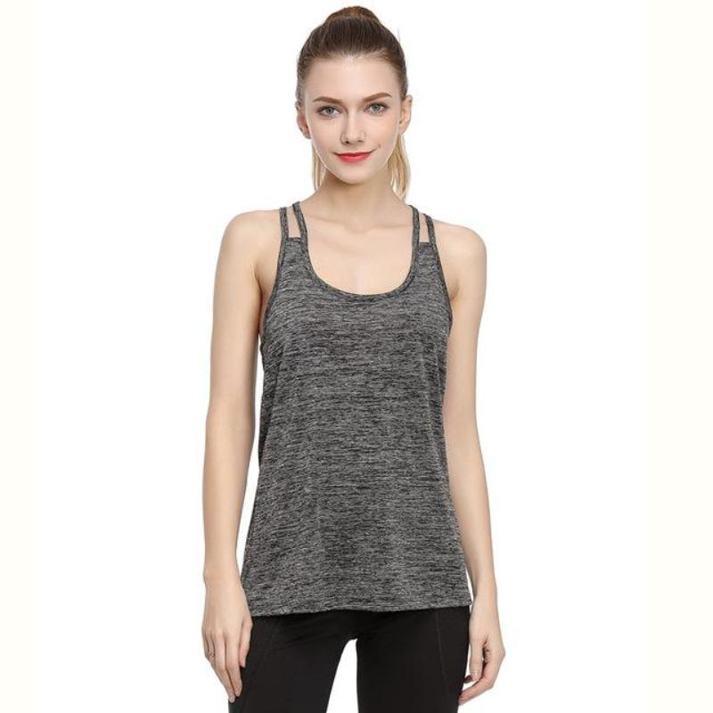 Sleeveless Sweat Absorption Fitness Tank Top