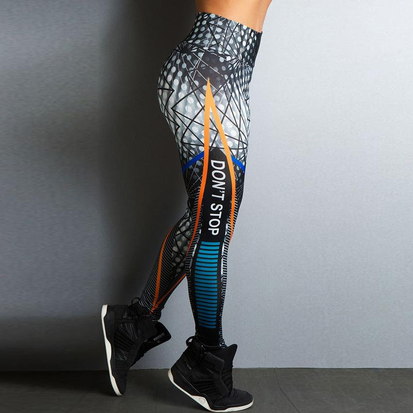 Don't Stop  Women Leggings - DreamAthletic