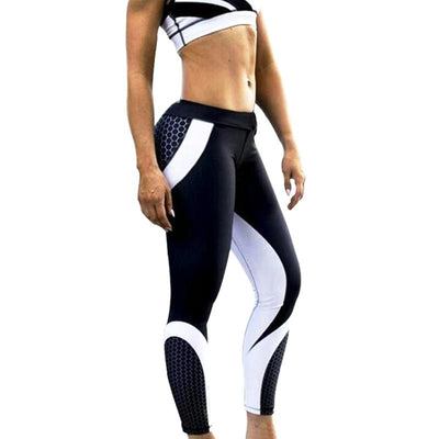 Future Honeycomb Elastic Leggings - DreamAthletic