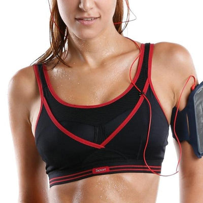 High Impact Support Racerback Sports Bra - DreamAthletic