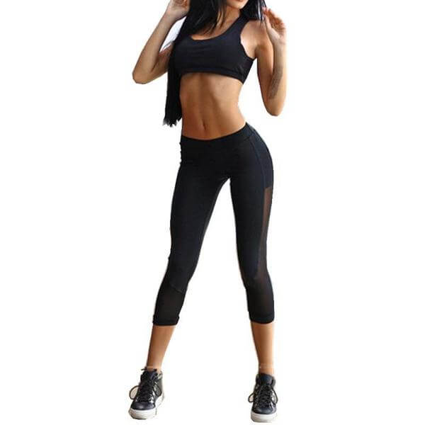 Yoga Set Capris & Sports Bra