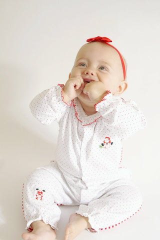 Kissy Kissy Santa Play Suit.