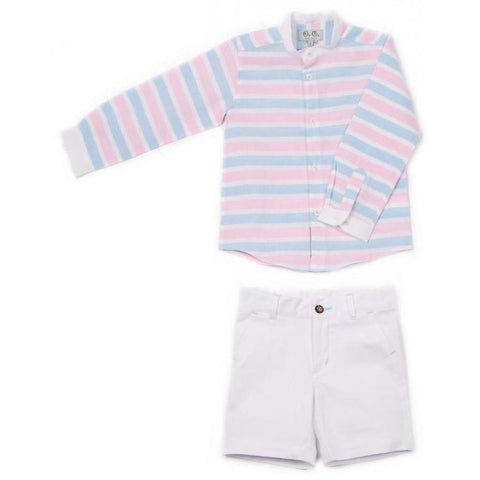 Outfits - Jose Varon Boys Pastel Set