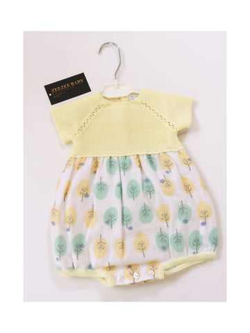 Romper - Betty Yellow (Organic Cotton)