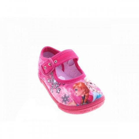 Shoes - Pink Character Canvas Shoes