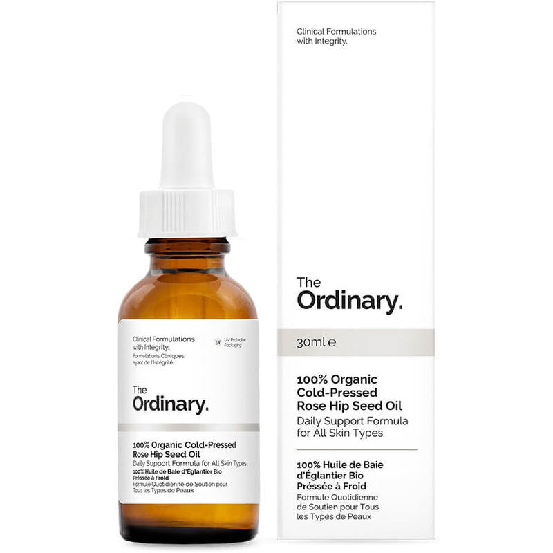 100% Organic Cold-Pressed Rose Hip Seed Oil - THEKULT.COM | The Ordinary