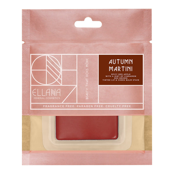 Autumn Martini Tinted Lip & Cheek Balm Stain| Lip Drunk Blush (Refil)