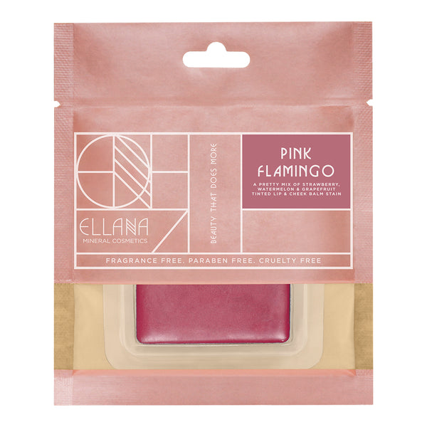 Pink Flamingo  |Tinted Lip & Cheek Balm Stain| Lip Drunk Blush (Refil) - THEKULT.COM | Ellana