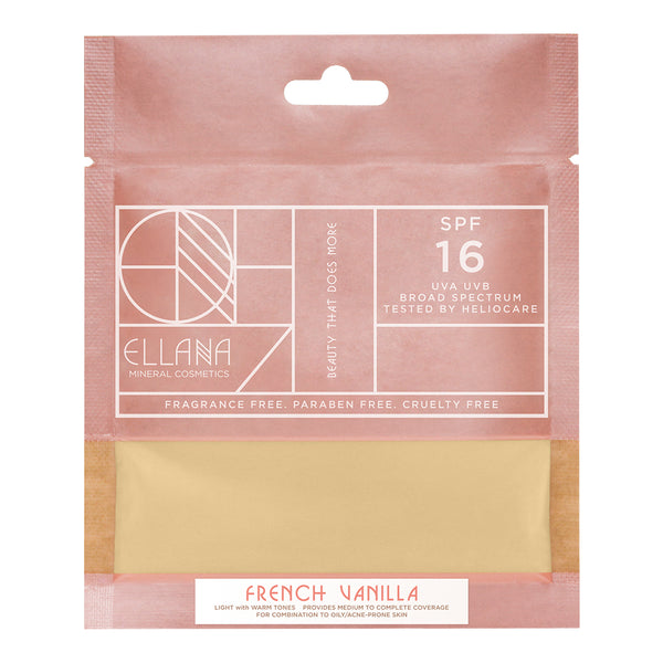 French Vanilla Loose Mineral Foundation (Refil) - THEKULT.COM | Ellana