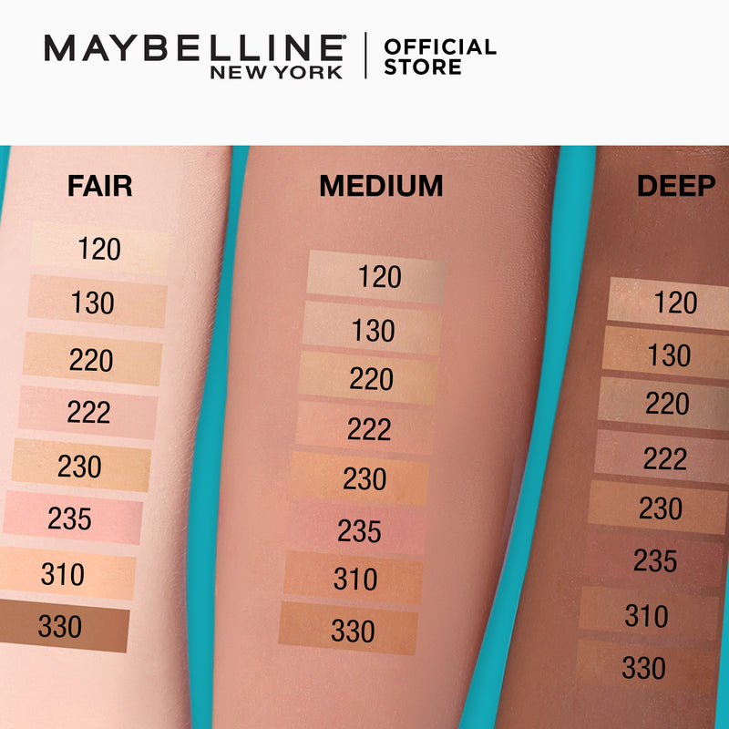 Fit Me Matte + Poreless Powder 120 Classic Ivory - THEKULT.COM | Maybelline
